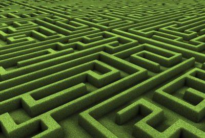Labyrinth-Betriebsausflug